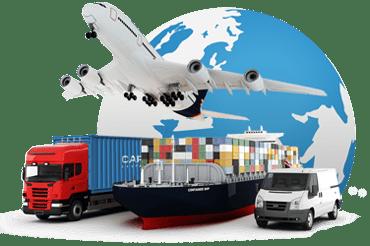 Méthodes de transport international